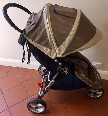 Baby Jogger City Mini Single Stroller Pram With Padded Outlook Seat Insert