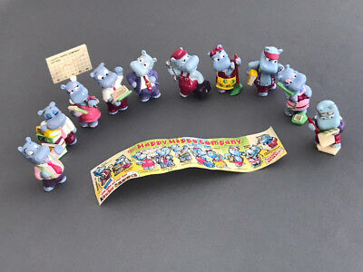 Ü-Ei Figuren: Happy Hippo Company 1994