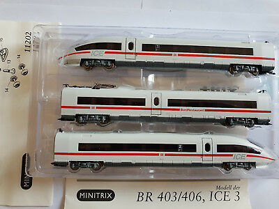 Spur N ICE 3 BR 403/406 Digital von Minitrix DCC