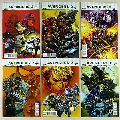 Ultimate Avengers 2 #1-6 -- complete six-part series (NM- | 9.2)