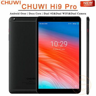 8.4'' CHUWI Hi9 Pro Android Tablet PC Deca Core 3GB 32GB Phone Call Dual Cam 4G