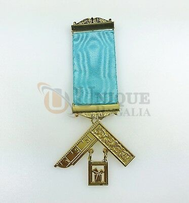 Masonic Craft Lodge Officer Past Master Breast Jewel BT097