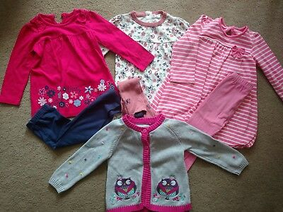baby girls clothes 12-18 months bundle, outfits, excellent condition, x 7 items