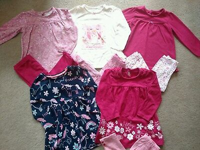 12-18 Month Baby Girls Clothes Bundle, x 9 items. Excellent condition. Outfits