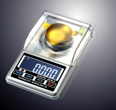 0.001g Lab Analytical Balance Scale High Precision Digital Jewelry Scale 50g