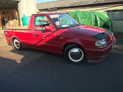 Classic Car Vw Caddy Pick Up Slightly Rat Look Mk2 Lowered