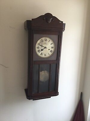 Old Pendulum Wall Clock