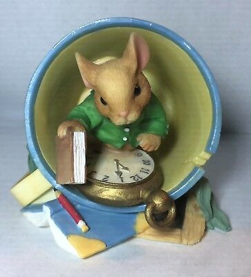 Mouse Tales-- School days = lasting memories  -- NO BOX -- 642126