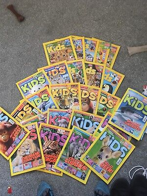 National Geographic - Kids - Job Lot (25 Issues)