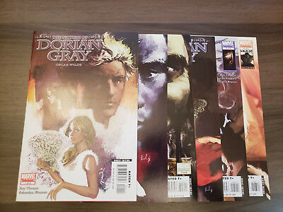 Picture of Dorian Gray (Marvel 2007) #1,2,3,4,5,6 | Roy Thomas Sebastian Fiumara