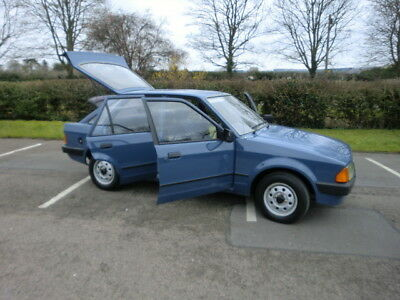 Ford Escort Mk3 1.3L 30,000 Miles Full Service History, Mot Real Investment
