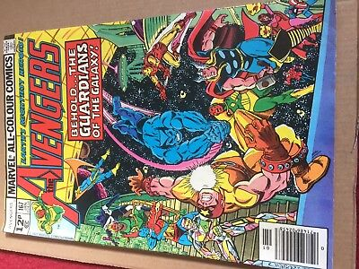 The Avengers #167 January 1978 VFN- (Guardians of the Galaxy app)