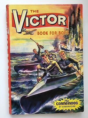 The Victor Book for Boys 1965 (Hardback Annual) - Commandos at Singapore