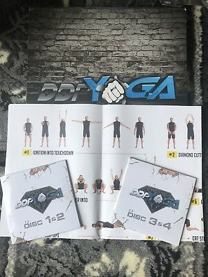 DDP Yoga Dvds- Fitness Exercise