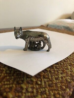 Romulus And Remus With The Wolf Statue/figurine -