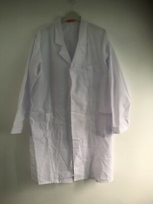 new white lab coat doctor factory worker medical