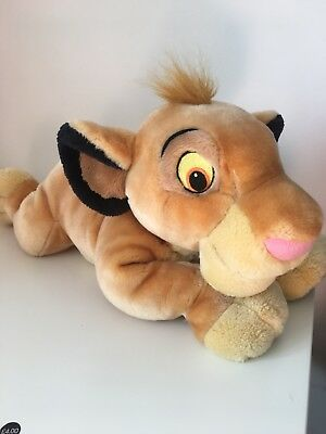 Disney Store Large Vintage Simba Plush From Lion King