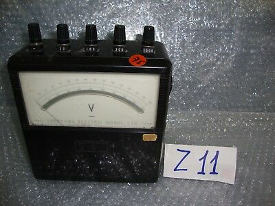 Vintage Yokogawa Electric Works type 2011 Portable Voltmeter