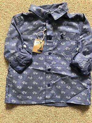 Jolues Blue Shirt Age 18-24 Months, BNWT