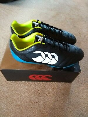 Canterbury Stampede Club 8 Stud Rugby Boots Brand new in box UK 9 Wide fit
