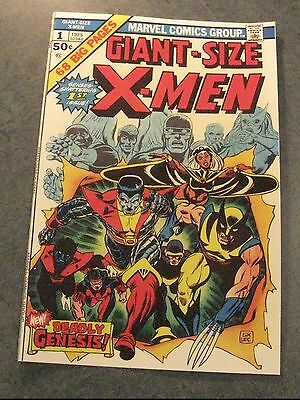 Facsimile reprint covers only to Giant Size X-Men #1