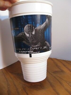 Burger King - Spider-man 3 - Spider-man -  42 oz. Plastic Cup - 2007