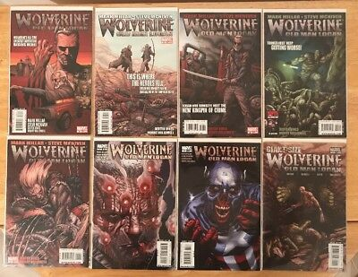 WOLVERINE OLD MAN LOGAN #66-72 & GIANT SIZE WOLVERINE *Mint* Bagged & Boarded