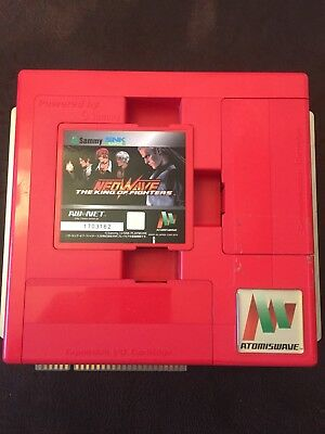 Sammy Atomiswave Motherboard/King Of Fighters Neowave Cartridge/Net Router