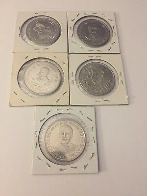 Canadian Trade Dollars Tokens Wetaskiwin Mixed Lot Of 5 #67