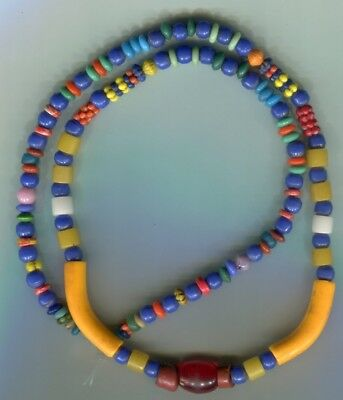 African Trade beads Vintage Czech Bohemian glass beads assorted very nice mix
