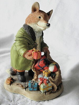 Villeroy & And Boch ~ Foxwood Tales ~ Squire Fox ~ A Little Surprise ~ Ft21