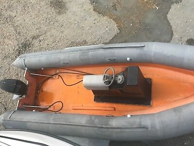 Avon Searider 5.4m open with Mercury 70ELPT outboard project.