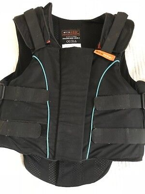Equestrian Body Protector, Airowear Junior Outlyne, Regular Size Y5