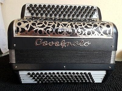 Akkordeon Accordion Knopfakkordeon Cavagnolo - 3 chörig - C-Griff