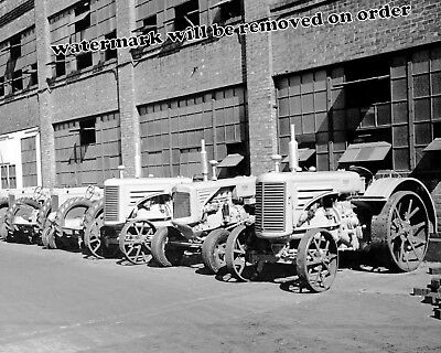 Photograph Moline Tractors at the Minneapolis Minnesota Factory Year 1939 8x10