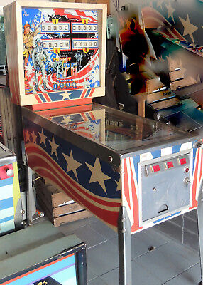 Flipper Pinball - Spirit of 76 -  Gottlieb von 1975 - EM