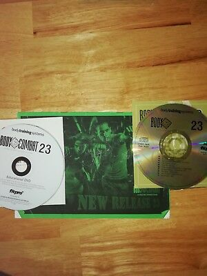 les mills bodycombat 23 cd, dvd and choreography notes