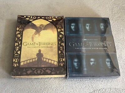 Game of Thrones Season 5 and 6 DVD Bundle Free Shipping!