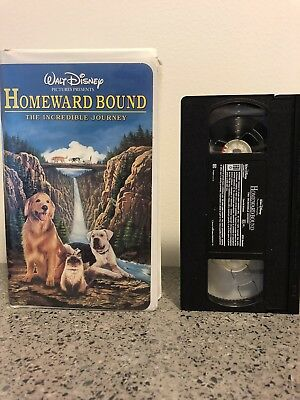 Disney Homeward Bound The Incredible Journey VHS Family Movie See VHS offer!