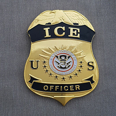 Historisches US Police Badge ICE -2