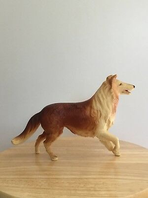 Breyer #65 Vintage Brown And White Lassie Dog