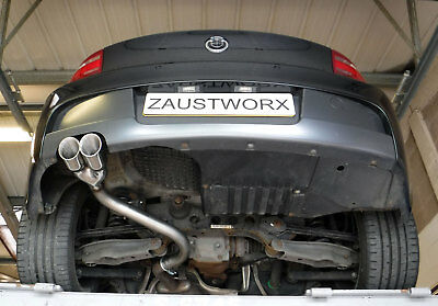 "BMW 116D/118D/120D E81 / E87 Rear silencer delete pipe - Twin 3"" tail pipe A"