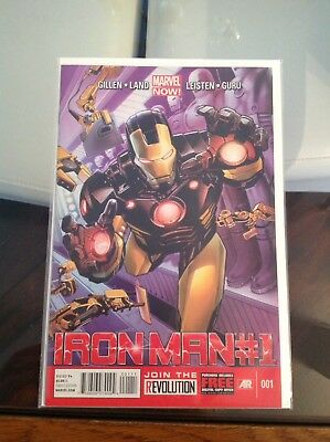 Iron Man 1st Issue Vol 4 1st Appearance Of Marvel Now Armor Key