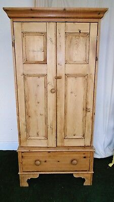 Very Attractive Small Pine Wardrobe