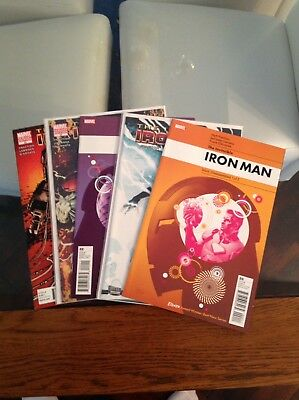 "Hot Invincible Iron Man Vol 1 20-24 ""Stark Disassembled"" Complete Set + Variants"