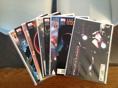 Key Invincible Iron Man Vol 1 25-33 1st Appearance Of Bleeding Edge Armor