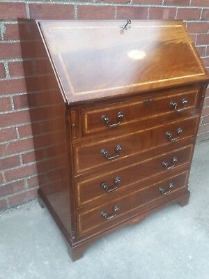 Beautiful Inlaid Bureau