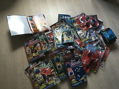 Ultimate Real Robots Job Lot - Robot, magazines and accessories