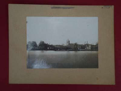 Original John I.thornycroft Archive Photo Of Their Chiswick Works At Ick C1900.