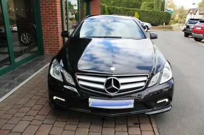 Mercedes-Benz E-Class 2.1 Cdi E250 Sport Coupe,2 Door Manual In Black 2010